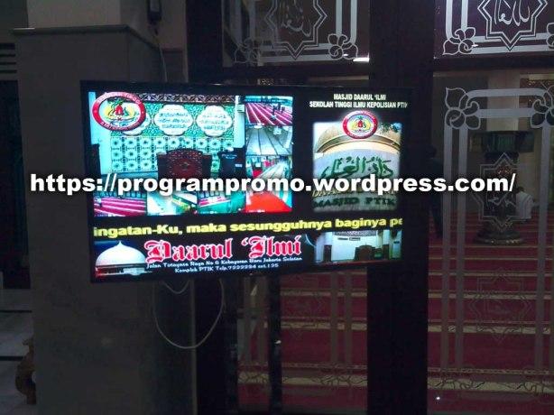 TVP 26 Des 2015 di Masjid Daarul Ilmi PTIK- Kebayoran Jakarta
