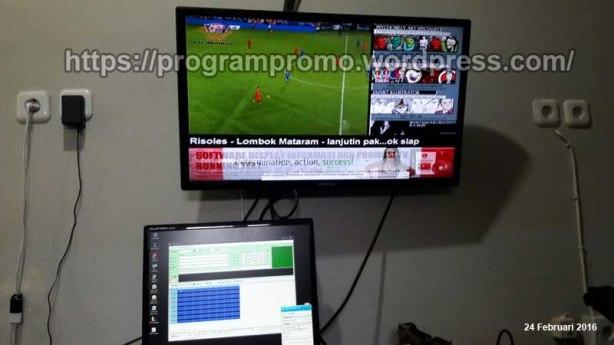 Remote TVP Kedai Kamila - Gomong Mataram Lombok